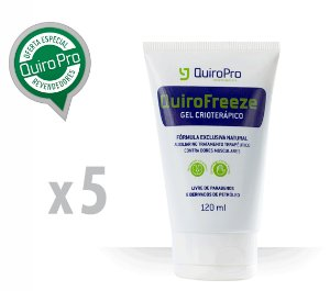 Kit com 5 Unidades de Quirofreeze - Gel Crioterápico 120ml (M)
