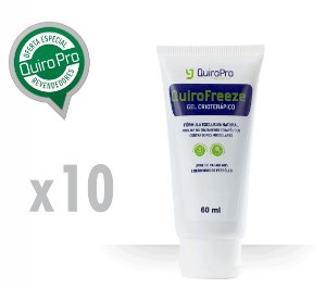 Kit com 10 Unidades de Quirofreeze - Gel Crioterápico 60ml (P)