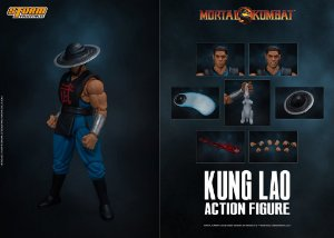 Kung Lao Action Figure Mortal Kombat Storm Collectibles