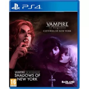 Vampire: The Mascarade - Coteries of New York + Shadows of New York PS4 (EUR)