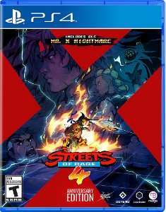 Streets of Rage 4 Anniversary Edition PS4