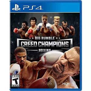 Big Rumble Boxing: Creed Champions PS4