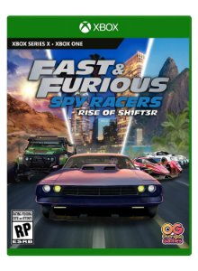 Fast and Furious Spy Racers Rise of Sh1ft3r Xbox
