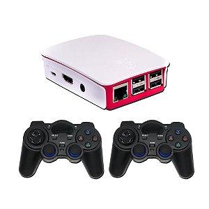 Video Game Retro Com 8000 Jogos Clássicos e 2 Controles Sem Fio