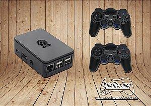 Video Game Retro Com 8000 Jogos Clássicos e 2 Controles Arcade Sem Fio