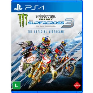 Monster Energy Supercross 3 The Official Videogame PS4