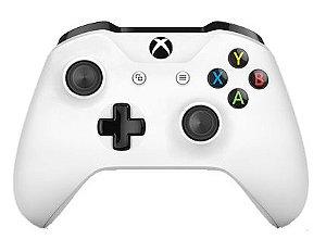 Controle Sem Fio Branco Xbox One S