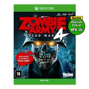 Zombie Army 4 Dead War Day One Edition Xbox One + Blusa Personalizada