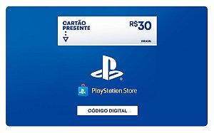 Cartão Presente Playstation Store