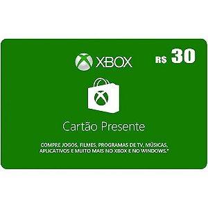 Cartão Presente Xbox Live Gold Game Pass Ultimate Brasil Microsoft
