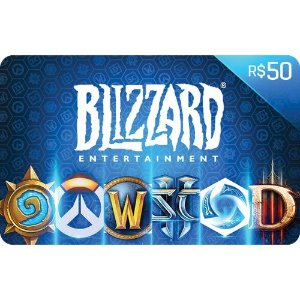 Cartão Presente Blizzard Entertainment