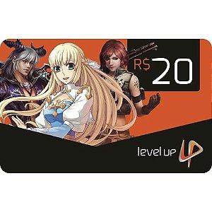 Cartão Presente Level Up
