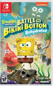 Spongebob Squarepants Battle For Bikini Bottom Rehydrated Nintendo Switch