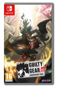 Guilty Gear 20th Anniversary Pack Art Book Nintendo Switch (AS)