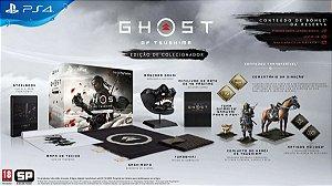 Ghost of Tsushima Edição de Colecionador PS4