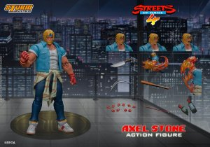 Axel Stone Action Figure Streets of Rage 4 Storm Collectibles