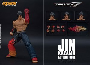 Jin Kazama Action Figure Tekken 7 Storm Collectibles