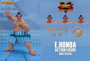 E. Honda Action Figure Street Fighter V Storm Collectibles