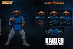 Raiden Action Figure Mortal Kombat Storm Collectibles
