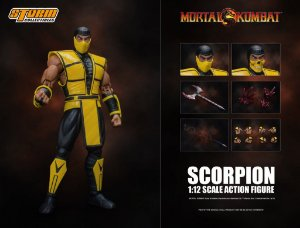 Scorpion Action Figure Mortal Kombat Storm Collectibles