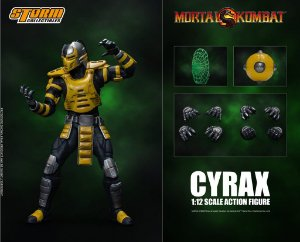 Cyrax Action Figure Mortal Kombat Storm Collectibles