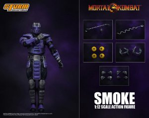 Smoke Action Figure Mortal Kombat Storm Collectibles