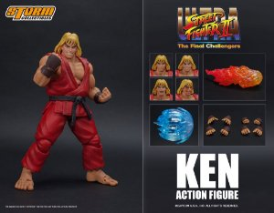 Ken Ultra Action Figure Street Fighter II Storm Collectibles