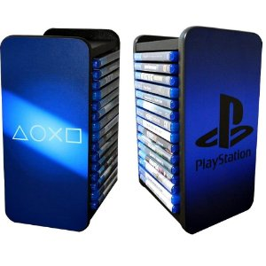 Porta Jogos Playstation para 15 jogos