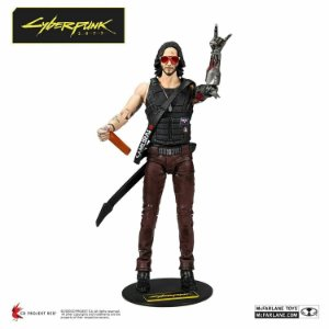Johnny Silverhand Action Figure Cyberpunk Mc Farlane