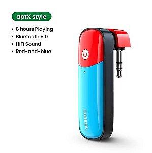 Adaptador Transmissor Bluetooth 5.0 Áudio 3,5 mm US206 Nintendo Switch Ugreen