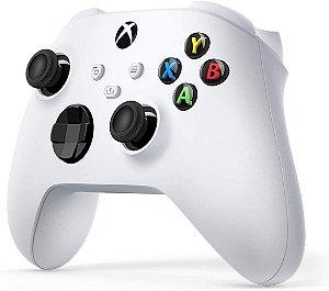 Controle Sem Fio Wireless White Robot Xbox Series