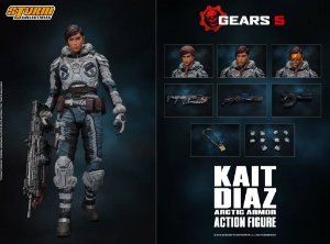 Kait Diaz Action Figure Arctic Armor Gears 5 Storm Collectibles