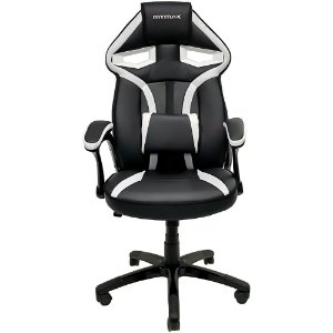 Cadeira Gamer MX1 Giratoria Preto Branco Mymax