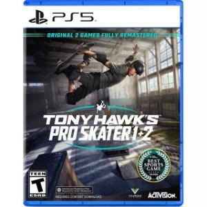Tony Hawk's Pro Skater 1 + 2 PS5