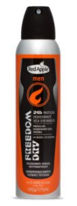 Desodorante aerosol masculino Red Apple - Men Freedom - 175ml