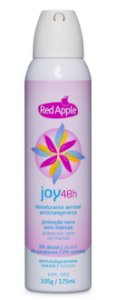 Desodorante aerosol feminino Red Apple Joy - 175ml