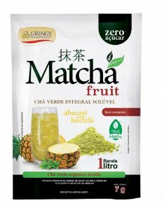 Matchá Fruit Grings Abacaxi e hortelã - 7g