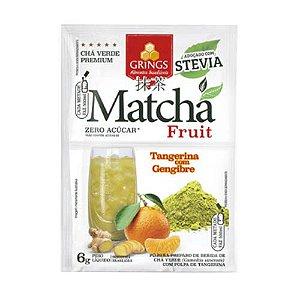 Matchá Fruit Grings Tangerina e gengibre - 6g