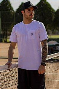 Camiseta Hawewe Masculina Turn Off Club Branca