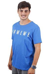 Camiseta Hawewe Surf Azul Royal