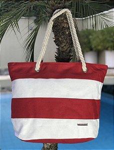 Bolsa Hawewe Listrada Vermelha