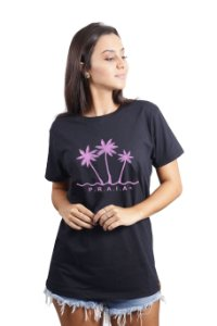 Camiseta Hawewe Praia Rosa