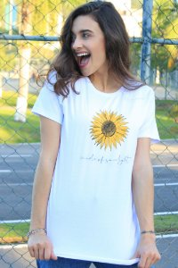 Camiseta Hawewe Made of Sunlight Branca