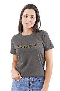Camiseta Hawewe Animal Print Estonada