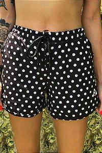 Shorts Hawewe Poa Preto