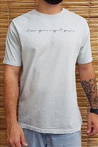 Camiseta Hawewe Natureza Cinza Estonada