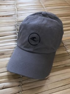 Boné Hawewe Dad Hat Logo Cinza