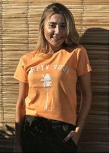 Camiseta Hawewe Salty Soul Laranja