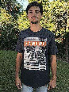 Camiseta Hawewe Paradise Beach Mescla