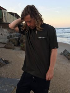 Camiseta Hawewe Surf & Co. Verde Militar